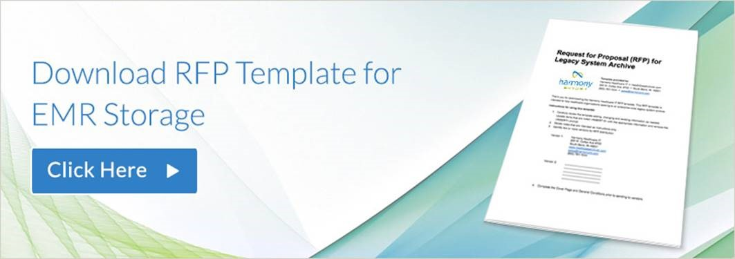sample request for proposal rfp template for emr storage hda