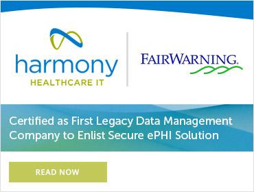 certified fairwarning ehr erp data management company